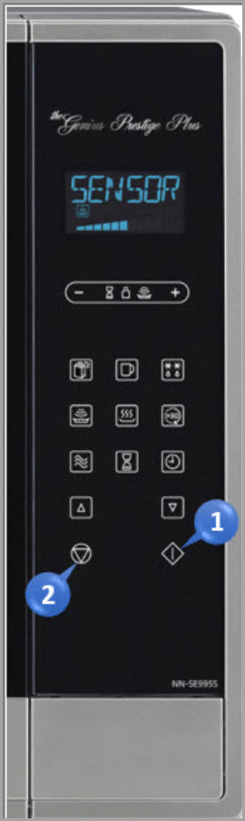 How Do I Use The Child Safety Lock Feature On Nn Se795s 995s Microwave