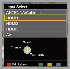 inputSCEEN how do i connect my viera tv to a cable box or satellite receiver?